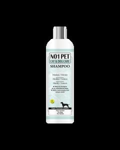 Petz Therapy Citroenshampoo Muskus Kortharige Honden en Katten tegen Teken